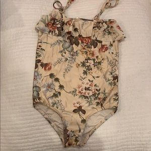 Girls Zimmermann Bathing Suit